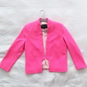 RIVER ISLAND Barbie pink blazer